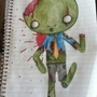 my little zombie by bloodylie