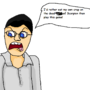 The Angry Video Game Nerd by stegosaurus