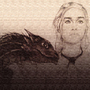 Daenerys Targaryen by MZLART