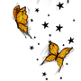 Butterfly Tattoo Design: Commi by 7darkriders