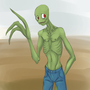 Salad Fingers by CarnieVorex