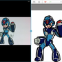 My MEGAMAN based off of Jazza by Sketchster