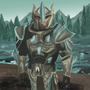 Skyrim Glass Armor by PaintBoxHero