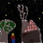 Night Sky by SpaceClammy