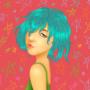Blue Hair by sylvrn