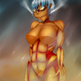 The Armored Titan by Kaxlene