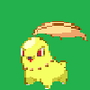 Angry Shiny Chikorita by david51618