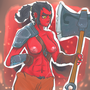Female Axe by Alef321