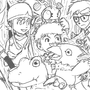 Digimon by RocketHorse
