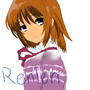 Semi-Realism in Form of Girl. by RenLen