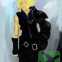 Cloud Strife Final Fantasy by rsflynn62