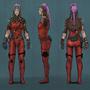 Cyberpunk Adventurer by Blud-Shot