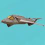 sci-fi racer by Surfsideaaron