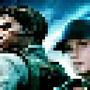 chris and jill pixel art by vixuzar