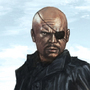 Nick Fury by rosend