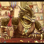 Lizard Merchant by rosend