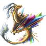 Crystal dragon by happypuppy000