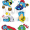 Turtlecat Sticker's