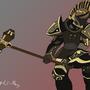 Skyrim Dwarven Armor Vector by PaintBoxHero