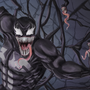 Furious Symbiote by Joyce-Art