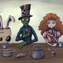 Mad Fingers' Tea Party by CarnieVorex