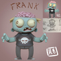 Frank The Zombie Kid 3D by HugoVRB