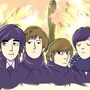 The Beatles by Oponok
