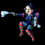 Rainbow Crew Member: Dark Blue by ILoveBlueMoreThanYou