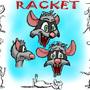 Racket Model Sheet by RaccoonRat