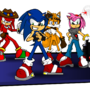 Sonic and Pals by MentalMyles