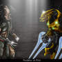 Elite VS Predator by Blud-Shot