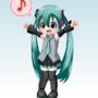 Little Vocaloid Miku by Dei-Sama