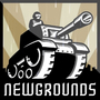 Newgrounds in the Rain! by Slosha69