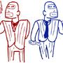 Spy vs Spy by Greenhotflame