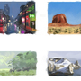 Enviroment Thumbnail Studies by Surfsideaaron