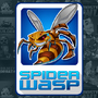 Spider Wasp Logo Design by lanotdesign