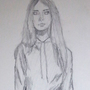 Cara Delevigne Drawing by polhudo