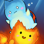Flambo and Catbug by Lazymoth