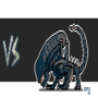 Predator vs Alien by ionrayner