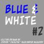 Blue & White #2 - Mugger by JMac96