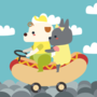 Dogs on a Hotdog by DeuceNine