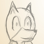 New Fursona Sketch by Wesllley