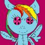 Rainbowdash Doll by Sweetpuppy76