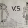 Walkeye VS Ironmuscles by hasantraini