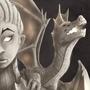 Dragon Girl. by amejia1924