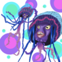 Shark Tale Jellyfish by LithiumLover194