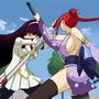 Fairy Tail - Erza vs Kagura