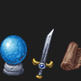 Pixel art assets for TeamSpeak by Qunit