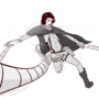Jon Snow in Attack on Titan by telite2