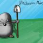 Mischievous Mole! by coatey